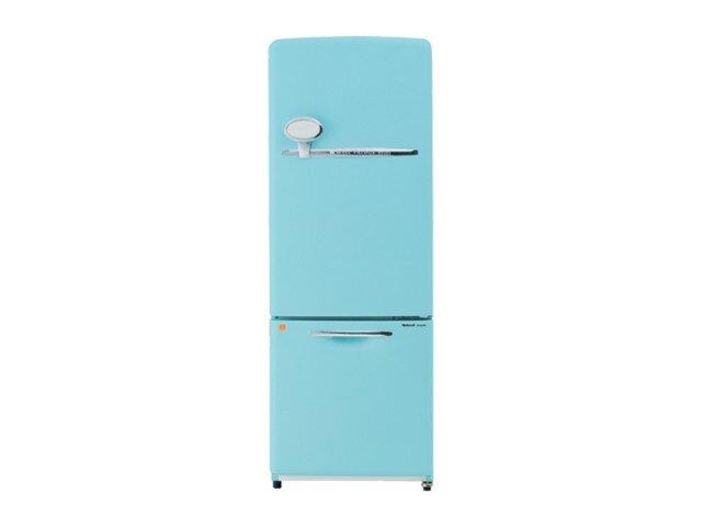 「推しの王子様」インテリア・家具・家電の紹介 ターコイズの冷蔵庫