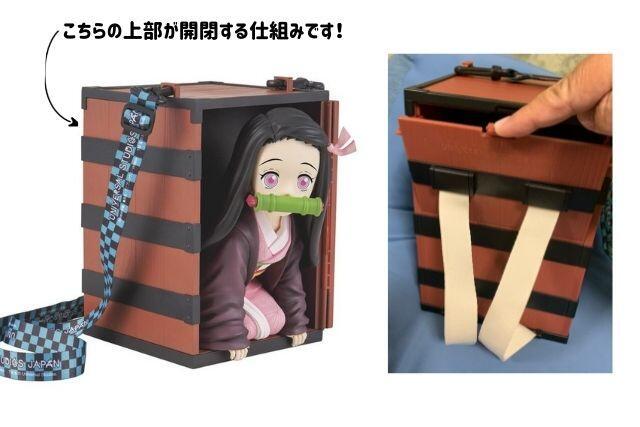 USJ鬼滅の刃・禰豆子ポップコーンバケツがどこから入るかの解説!