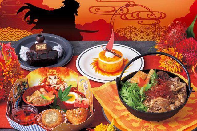 USJ鬼滅の刃「スタジオ・スターズ・レストラン」の煉獄杏寿郎メニュー・一覧